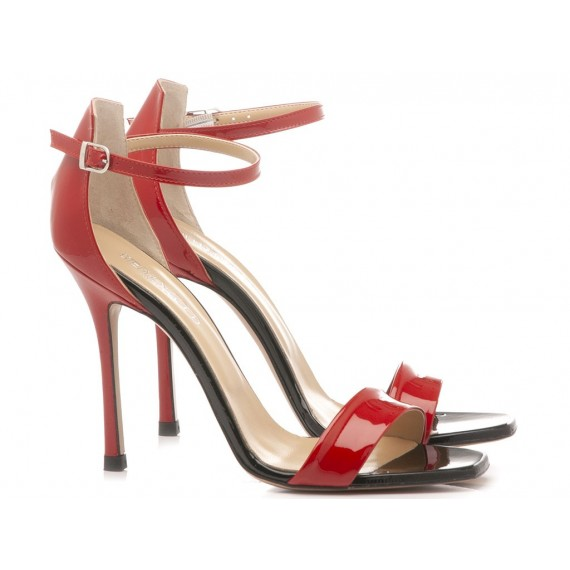 Stephen Good Women's Sandals Patent Red MA5043