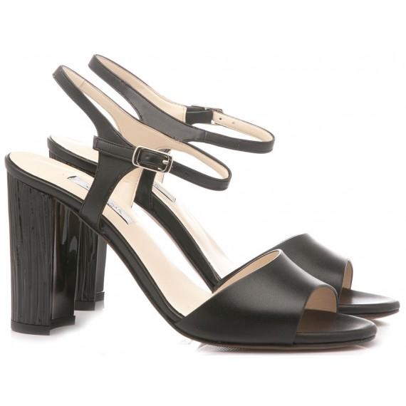 L'Amour Women's Sandals Soft Black 931