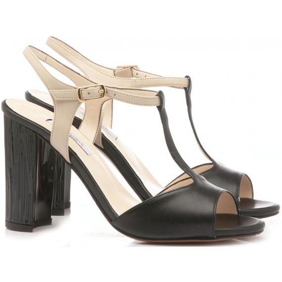 L'Amour Women's Sandals Soft Black 929