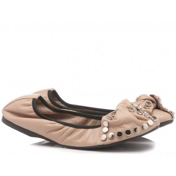 Zoe Women's Ballerina Shoes GBTI21221 Nude