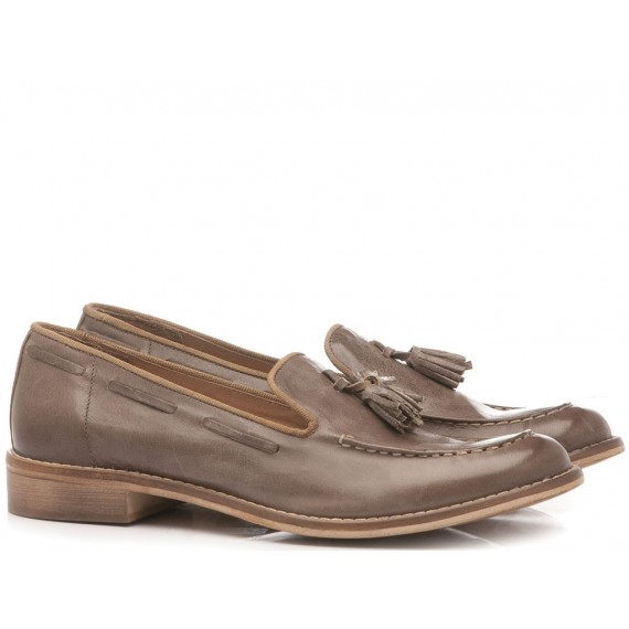 History 541 Women's Loafers Eglobal04 Taupe