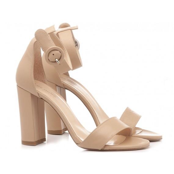 Les Autres Women's Shoes Leather Nude 1005