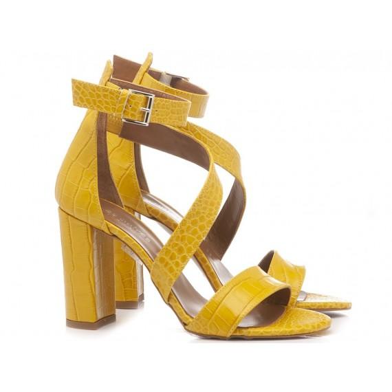 Les Autres Women's Shoes Leather Yellow 1006
