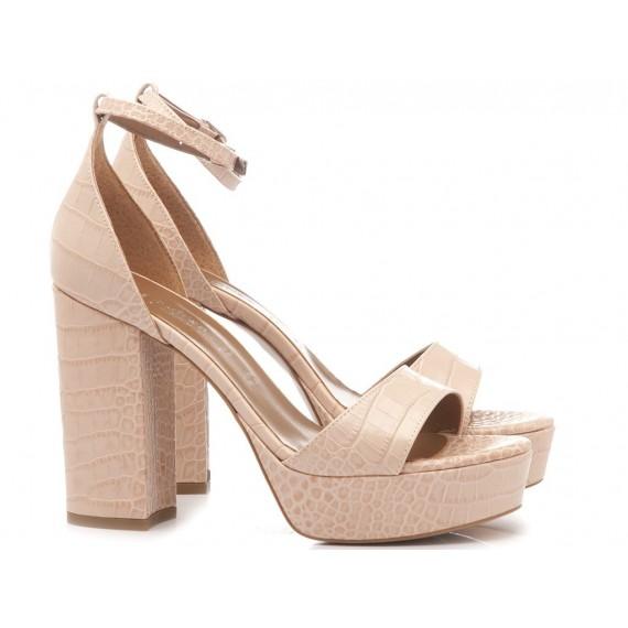Les Autres Women's Shoes Leather Nude 5001