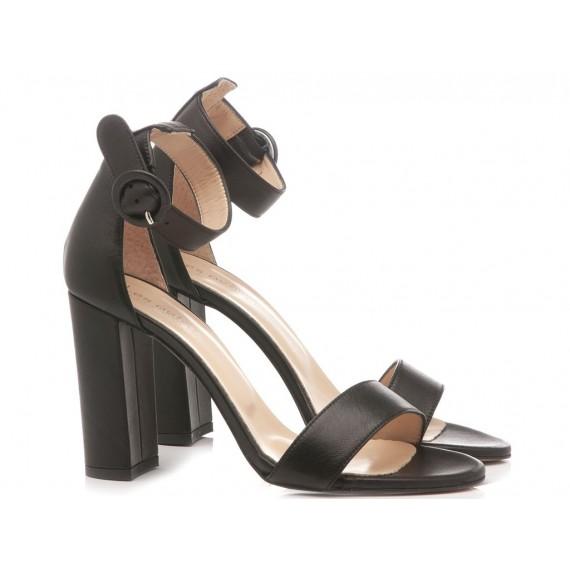 Les Autres Women's Shoes Leather Black 1005