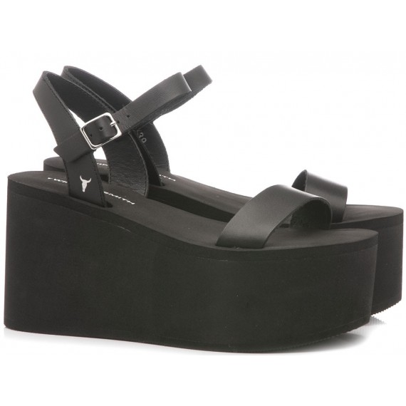 Windsor Smith Women's Sandals Sonnie Black