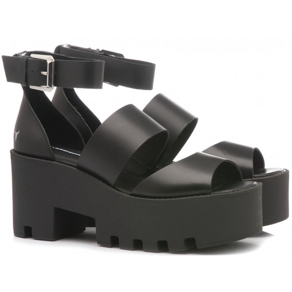 Windsor Smith Women's Sandals Puffy Black