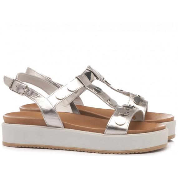 INUOVO Women's Sandals Flat Platform Ice 112010