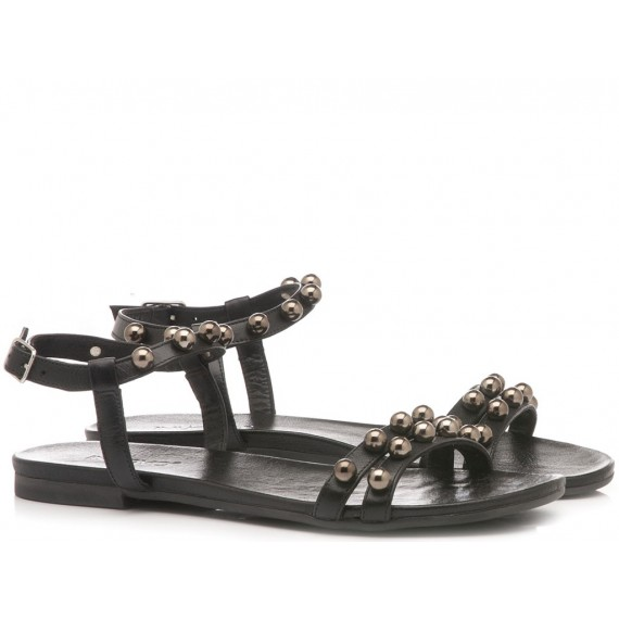 INUOVO Women's Sandals Black 101052