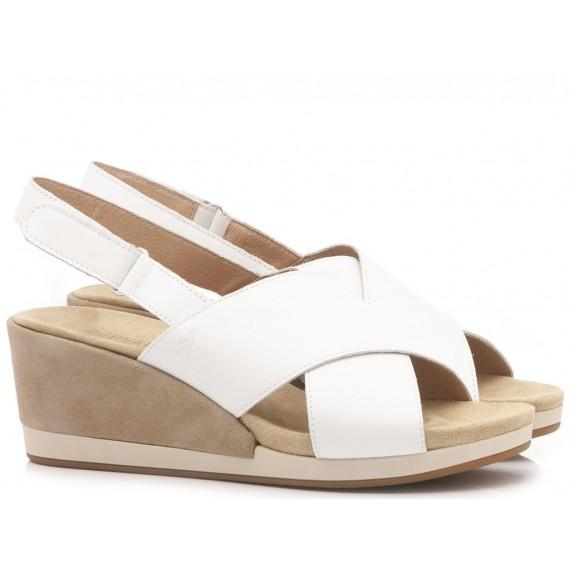 Benvado Women's Sandals Olivia White