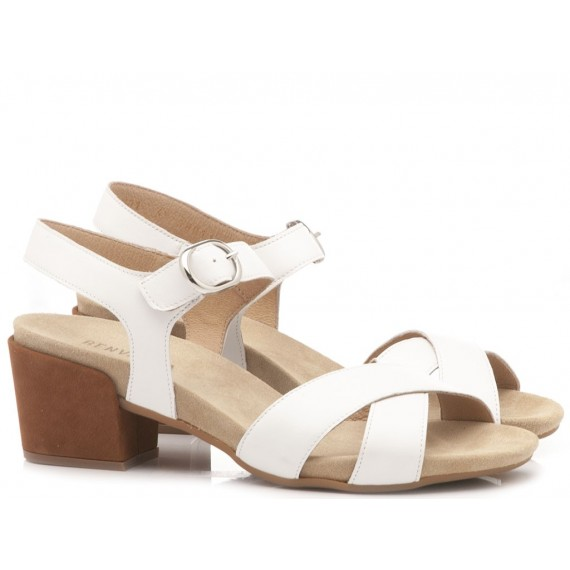 Benvado Women's Sandals Pia White