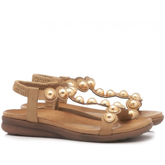 Exé Women's Sandals BZD83587-H4 Tan