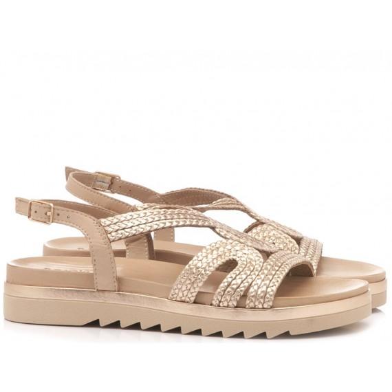 INUOVO Women's Sandals Flat Platform Blush 110001