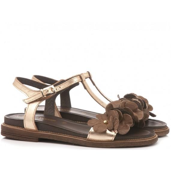 Laura Bizzarri Women's Sandal Leather Copper 90062