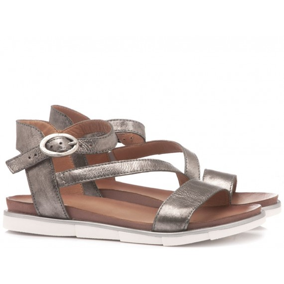Cuir Veau Women's Sandals 740019 Mouse