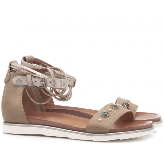Cuir Veau Women's Sandals 740024 Sand