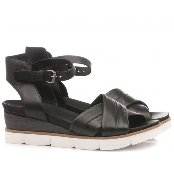 Cuir Veau Women's Sandals 866003 Black