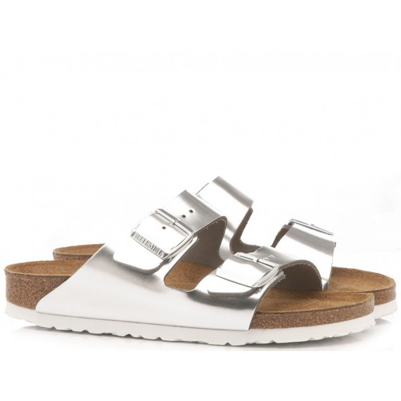 Birkenstock Women's Sandals Arizona Eva Silver