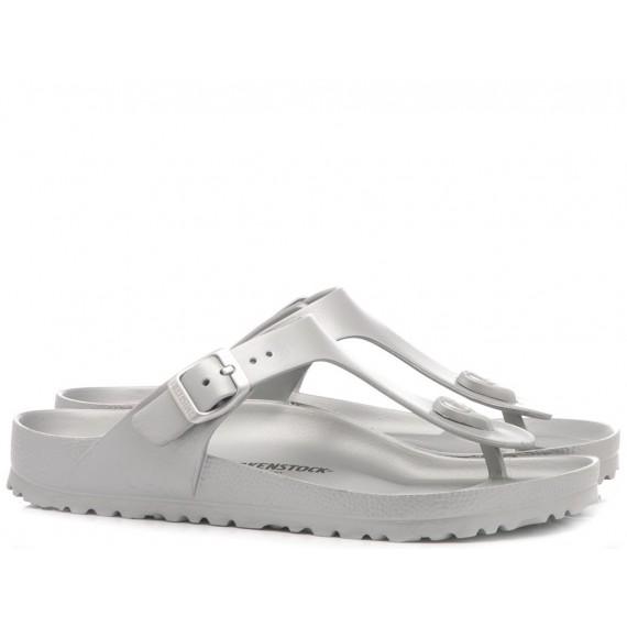 Birkenstock Women's Sandals Eva Silver