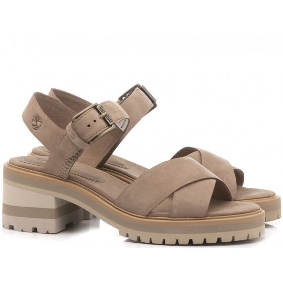 Timberland Women's Sandals Violet Marsh Taupe