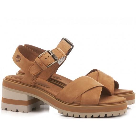Timberland Women's Sandals Violet Marsh Rust