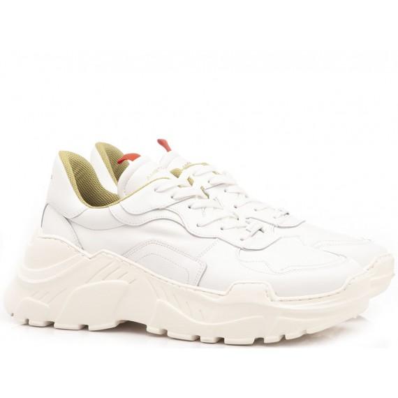 Ambitious Scarpe Sneakers Uomo Pelle Bianco 9286A