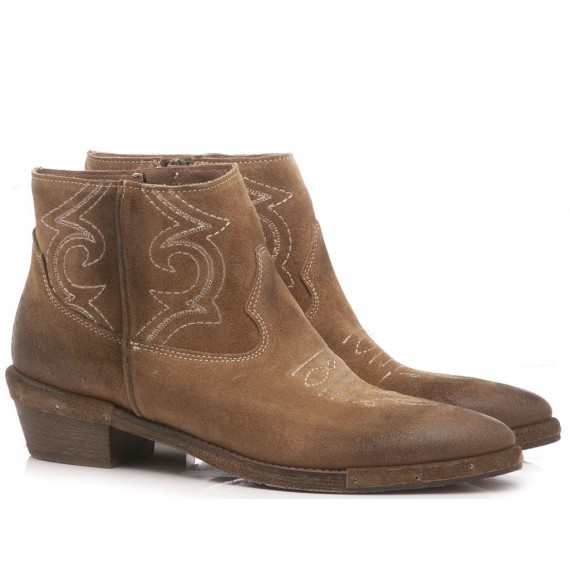 Kammi Women's Ankle Boots Taupe RCA64F