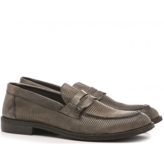 Pawelk's Men's Shoes Loafers Dash Fog 19036