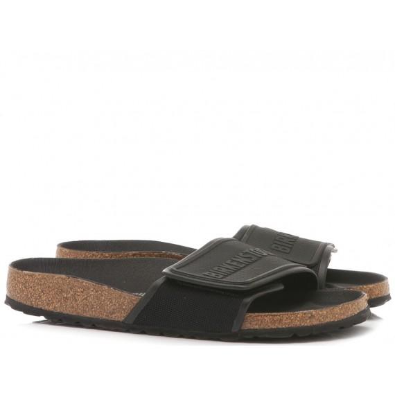 Birkenstock Women's Sandals Tema Microfiber Black