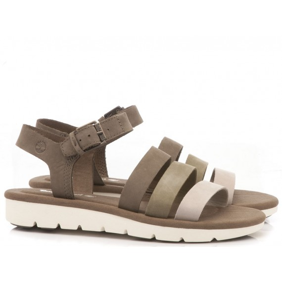 Timberland Women's Sandals Lottie Lou Olive