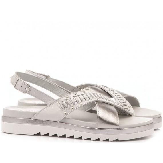 INUOVO Women's Sandals Flat Platform Ice 110015
