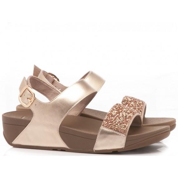 Fitflop Sandalo Zeppa Rose Gold