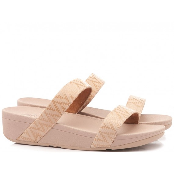 Fitflop Sandalo-Ciabatta Zeppa Lottie Pink
