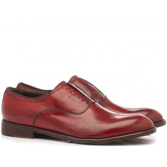 JP David Men's Classic Shoes Leather Red 6570-4 Bis