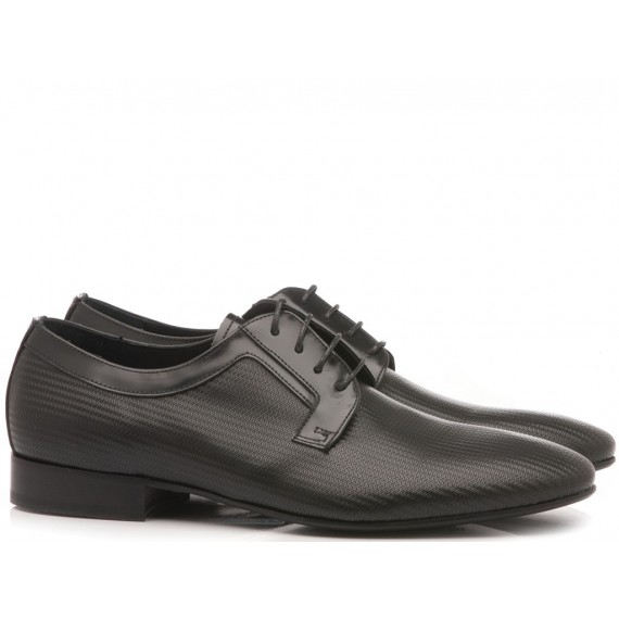 Eveet Men's Classic Shoes Spina-Rex Black 17216