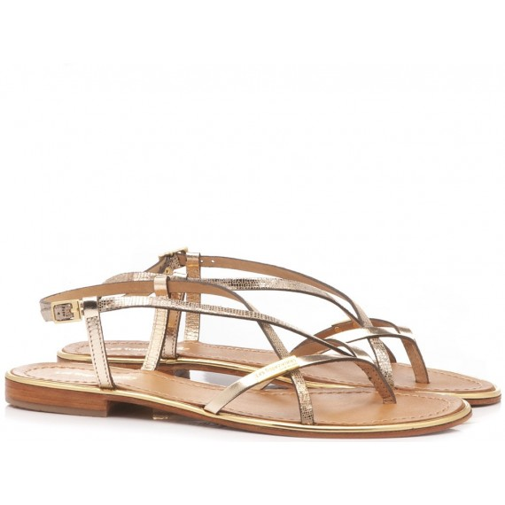 Les Tropeziennes Women's Sandals Gold 04171