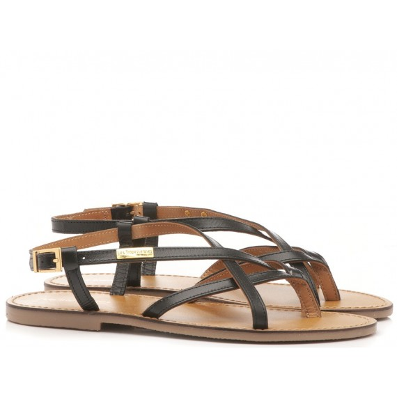 Les Tropeziennes Women's Sandals Black 12591