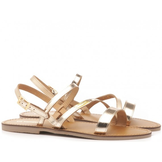 Les Tropeziennes Women's Sandals Baden Gold