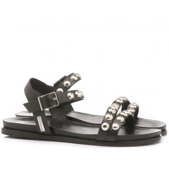 Les Tropeziennes Women's Sandals Galiza Black