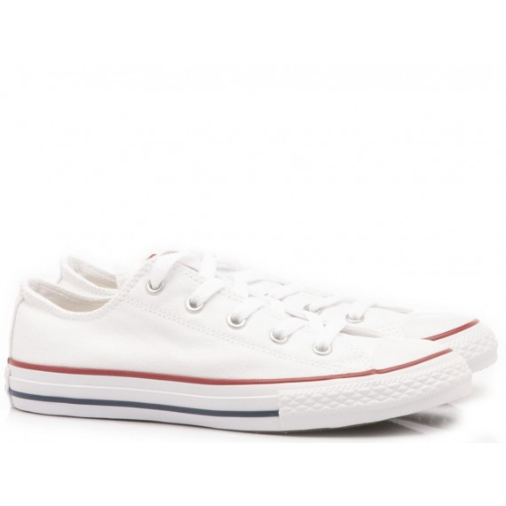 Converse All Star Sneakers Bambini 3J256C Bianco