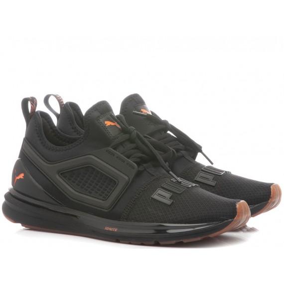 Puma Children's Sneakers Ignite Limitless 2 Unrest 191295 02 Black