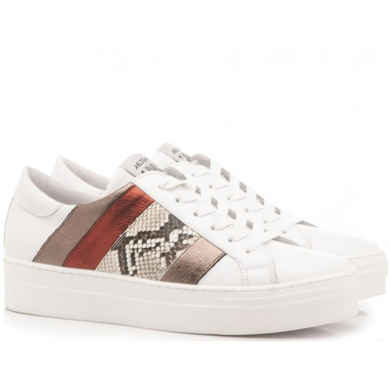 Méliné Sneakers Donna Bianco UG1310