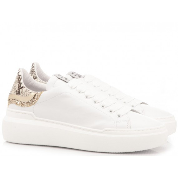 Méliné Women's Sneakers Leather White NON236