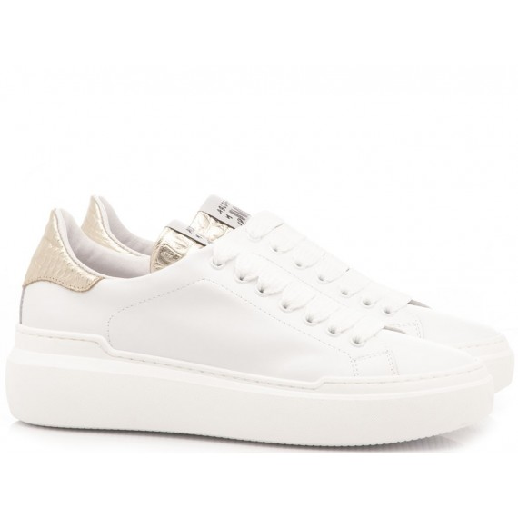 Méliné Women's Sneakers Leather White NON61