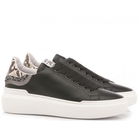 Méliné Sneakers Donna Zebra Printed Bianco 10
