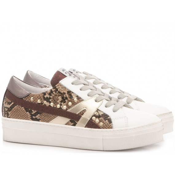 Méliné Women's Sneakers Leather Python UG1316