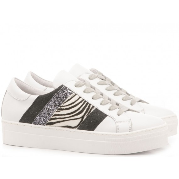 Méliné Women's Sneakers Leather White UG1310