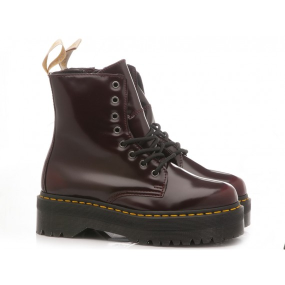 Dr. Martens Women's Ankle Boots Jadon Cherry Red