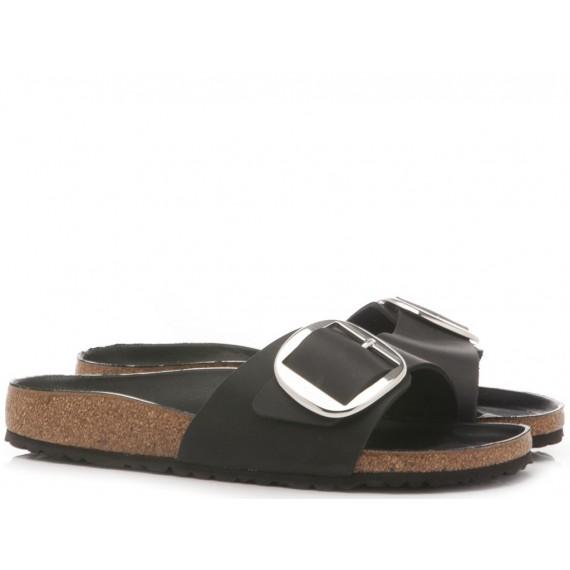 Birkenstock Women's Sandals Madrid Leather Black