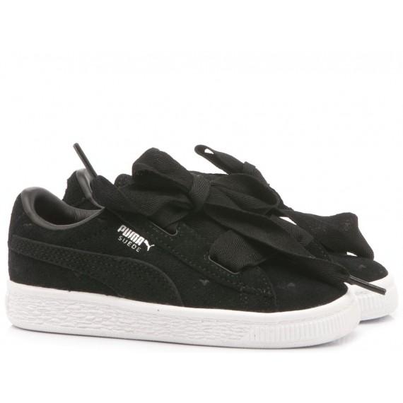 Puma Children's Sneakers Suede Heart Valentine Inf 365137-02
